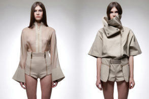 Fashion Find: Architectural Minimalism by Heohwan Simulation