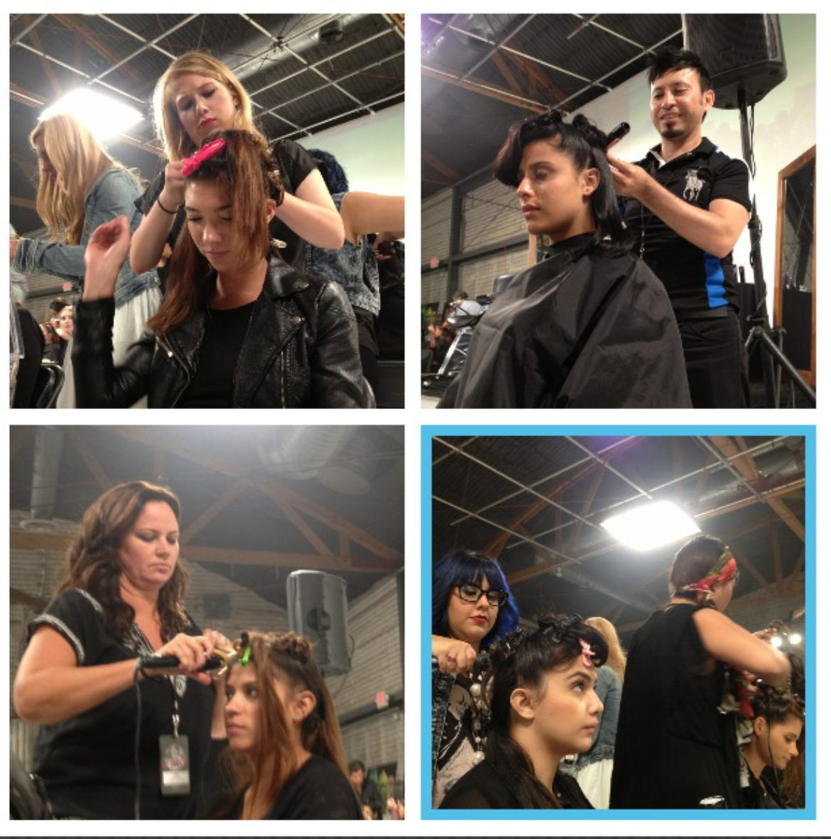 Oribe Backstage On The Road